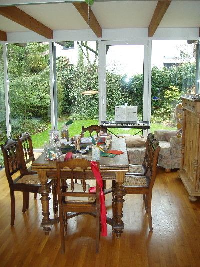 Comedor con vista al jard n for Cocinas con vista al jardin